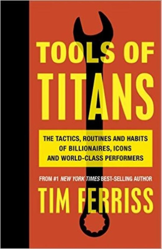 Boek cover Tools of Titans van Timothy Ferriss (Paperback)