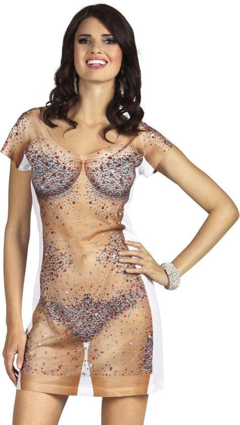 3 stuks: Fotorealistische jurk - Bijou - Small