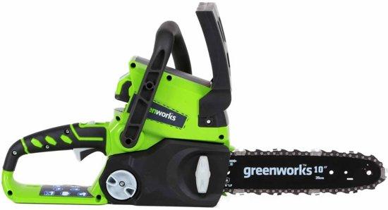 Greenworks Cirkelzaag zonder 24 V accu G24CS25 25 cm 2000007