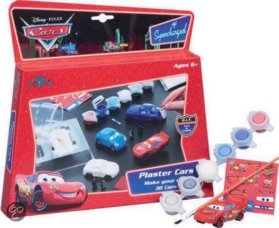 Bol Com Cars Gips Figuren Maken Onbekend Speelgoed