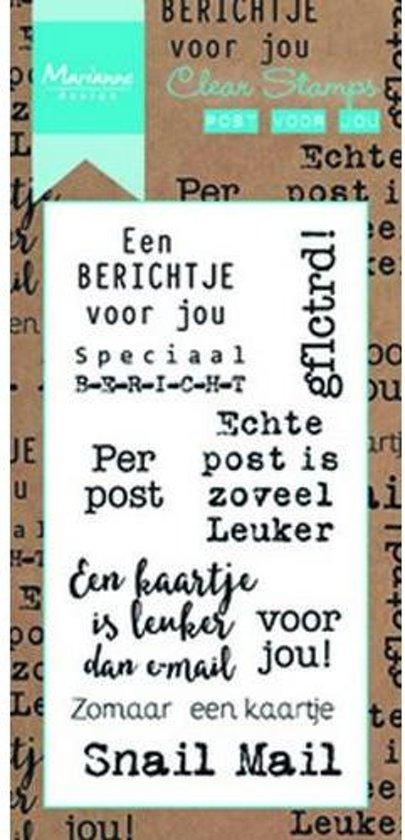Marianne Design Stempel Post voor jou (Nederlands) CS0993
