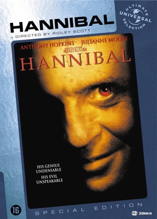 Cover van de film 'Hannibal'