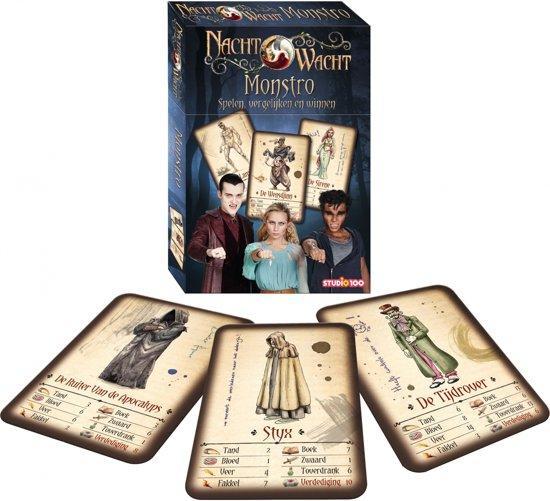Afbeelding van het spel Studio 100 Nachtwacht Monstro Kaartspel