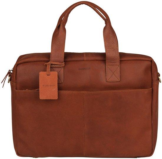 BURKELY Vintage River Laptop Bag Cognac 15.6 inch