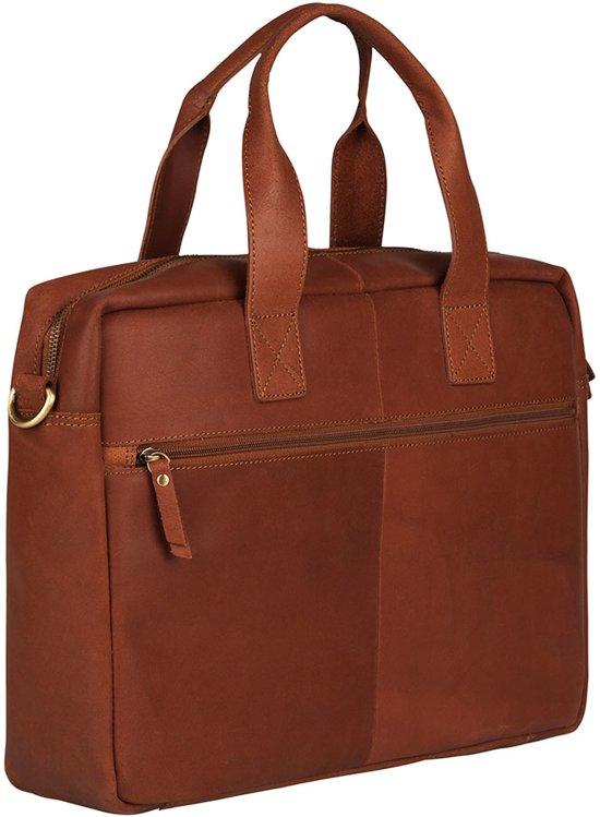 Burkely Cognac 6 15 Bag Laptop River Vintage Inch OqHIrO