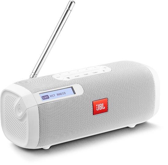 JBL Tuner - Draagbare DAB+ radio met bluetooth - Wit