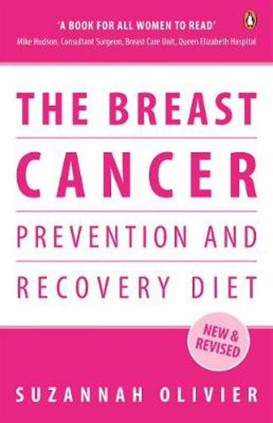 Boek cover The Breast Cancer Prevention and Recovery Diet van Suzannah Olivier (Paperback)