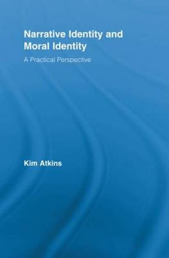 Narrative Identity and Moral Identity