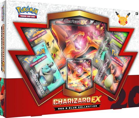 Afbeelding van het spel Pokemon kaarten TCG - Charizard EX - 20th Anniversary Red & Blue