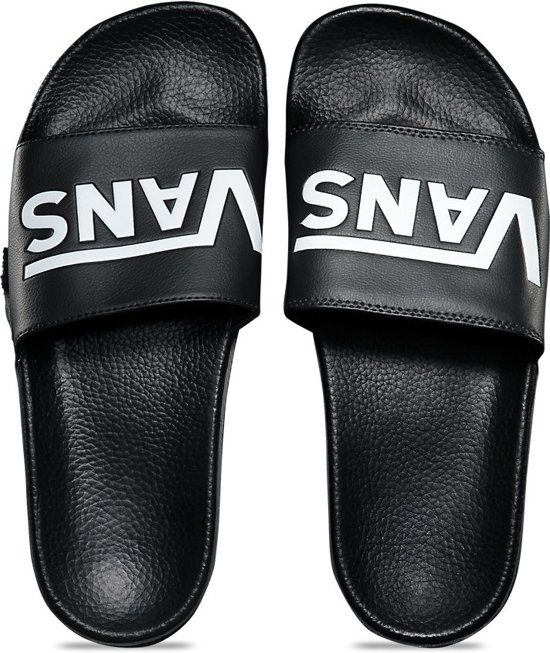 Zwart Heren Vans Slide Maat 42 Men On Slippers CPqvqw8