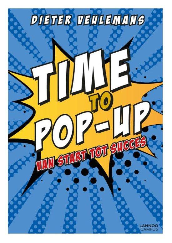 Boek cover Time to pop-up van Dieter Veulemans (Hardcover)