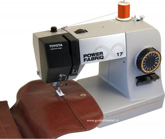 TOYOTA Power FabriQ 17 + kado garenset voor jeans twv. € 22,80