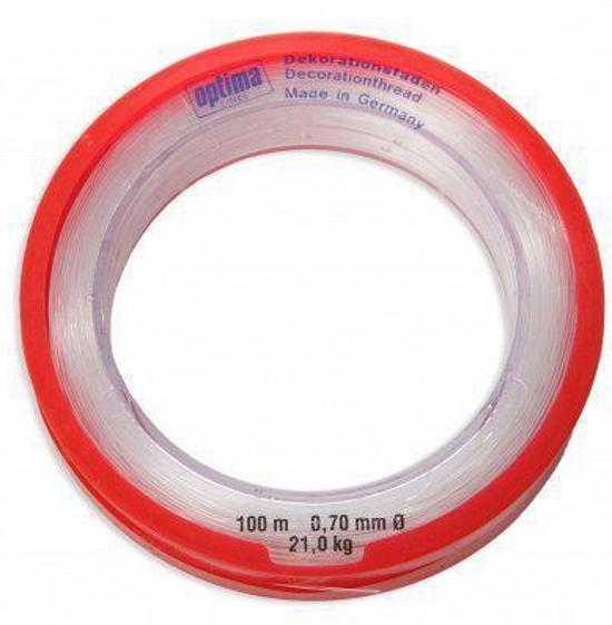Nylon draad op rol 0,7 mm