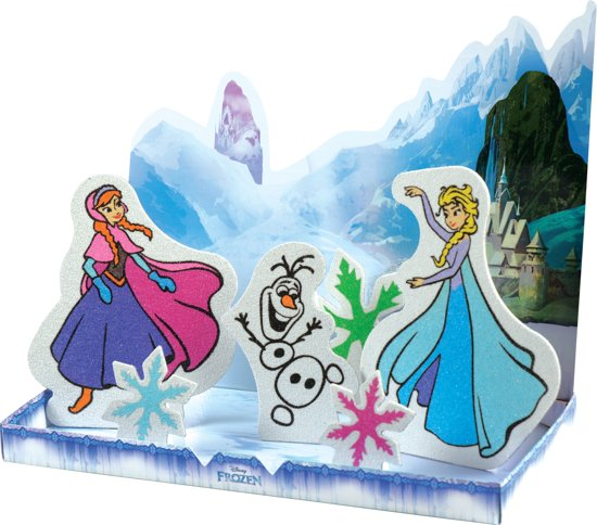 Bolcom Disney Frozen Elsa Anna Olaf ǀ 6in1 Sand Painting Art