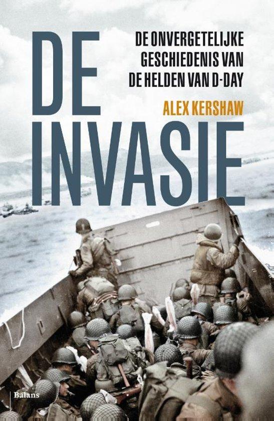 Boek cover De invasie van Alex Kershaw (Paperback)
