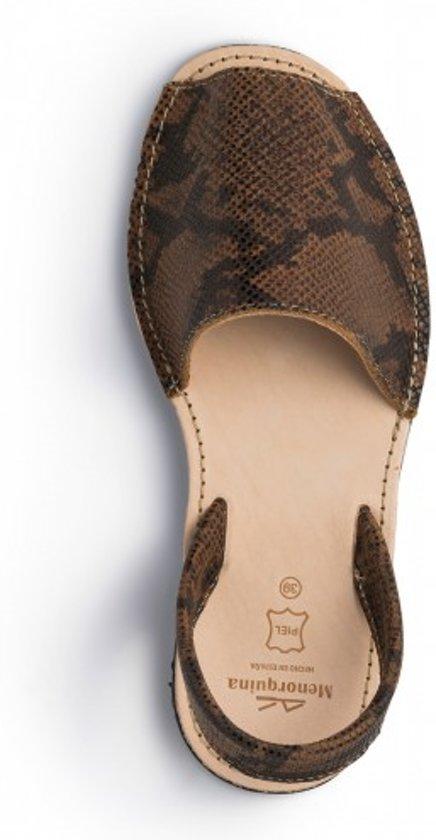 spaanse dames maat 37 Sandalen Menorquina avarca slangenprint vxnwBfq0
