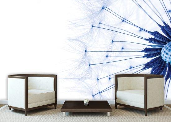 White   Blue Photomural, wallcovering