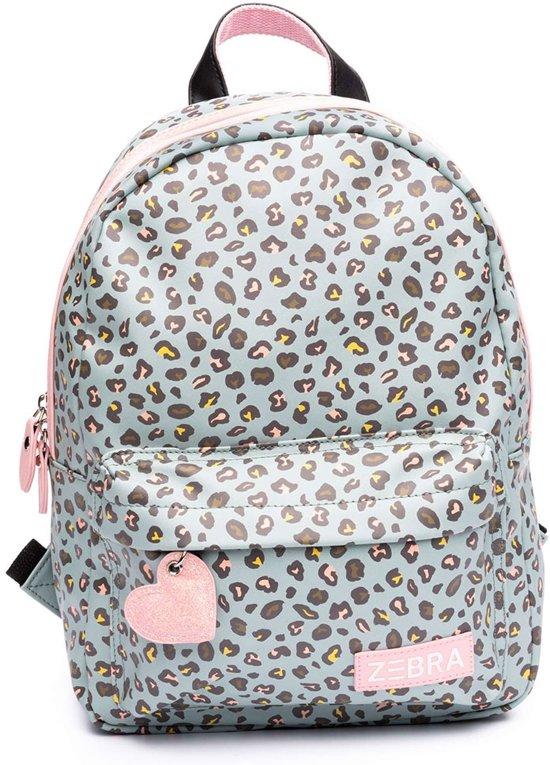 2b21da0a03b bol.com | Zebra Trends Kinder Rugzak M Leo Mint/ Pink