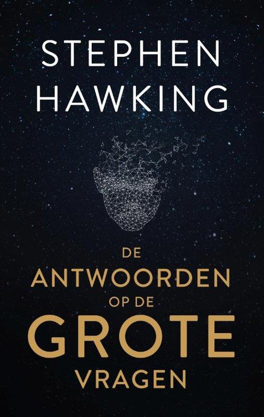 Boek cover De antwoorden op de grote vragen van Stephen Hawking (Hardcover)