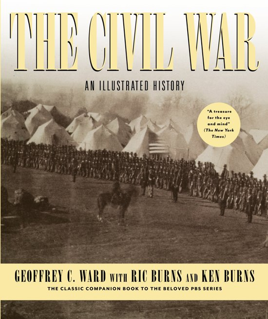 Boek cover Civil War - Us Edition van Geoffrey C. Ward (Hardcover)
