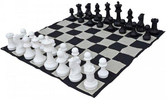 Afbeelding van het spel Tuin schaken groot - 41 cm