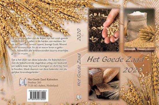 Het Goede Zaad A6, bijbels dagboek, kalender 2020 (verspreidingseditie, per 5 stuks)