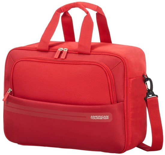 6db7c31f57 American Tourister Weekendtas - Summer Voyager 3-Way Boarding Bag Ribbon Red