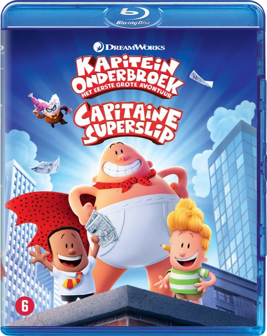 Captain Underpants (Blu-ray)