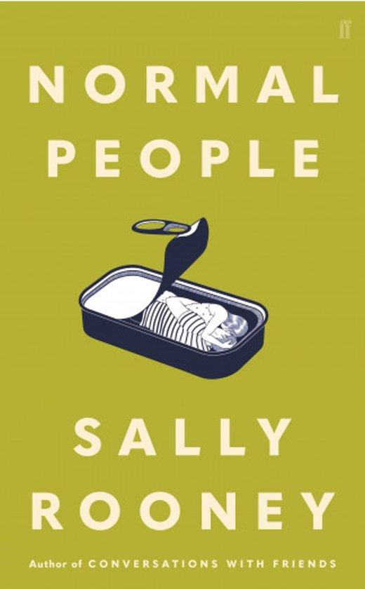 Boek cover Normal People van Sally Rooney (Hardcover)