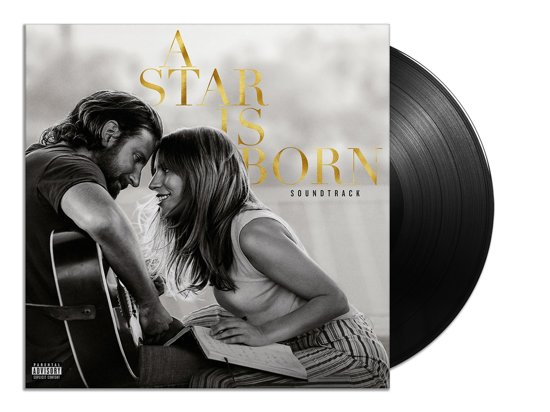 CD cover van A Star Is Born (Soundtrack) (LP) van Bradley Cooper