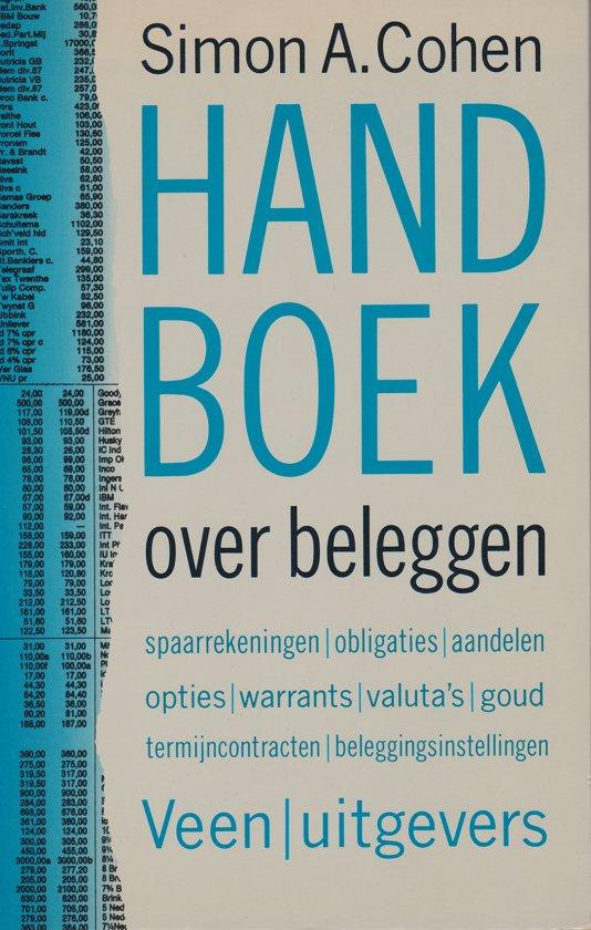 HANDBOEK OVER BELEGGEN - Simon A. Cohen  
