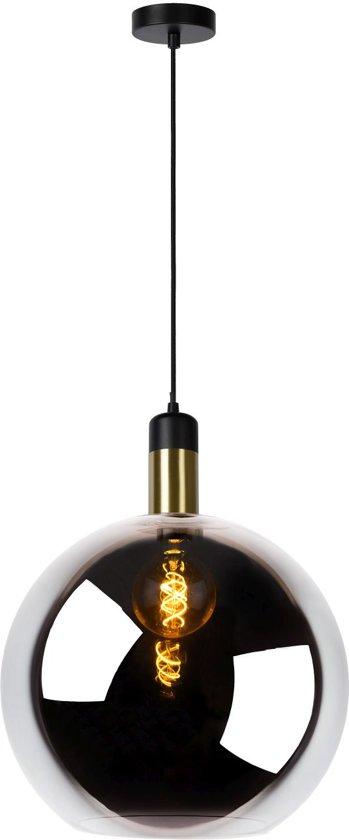 Lucide JULIUS - Hanglamp - Ø 40 cm - E27 - Fumé