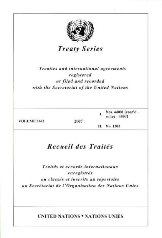 Treaty Series 2443 I