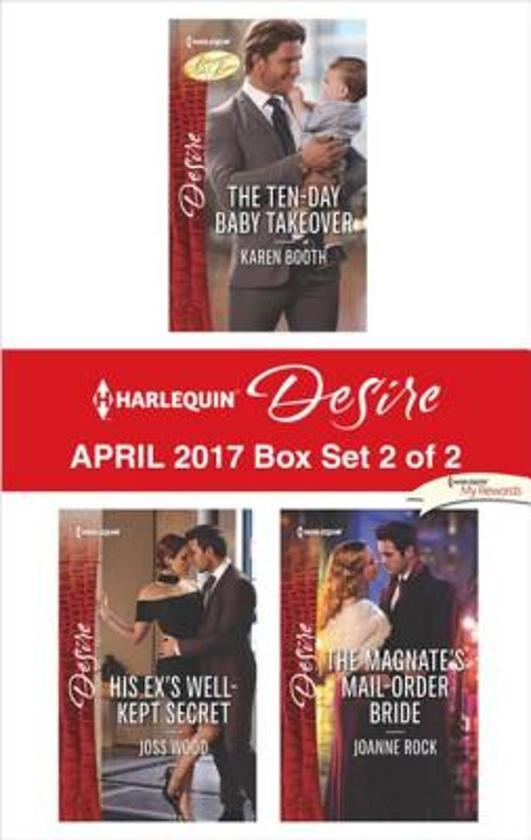 Harlequin Desire April 2017 - Box Set 2 of 2