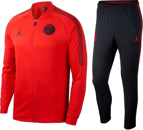 beste kwaliteit laatst specifiek aanbod Nike Trainingspak - Maat M - Mannen - rood/zwart
