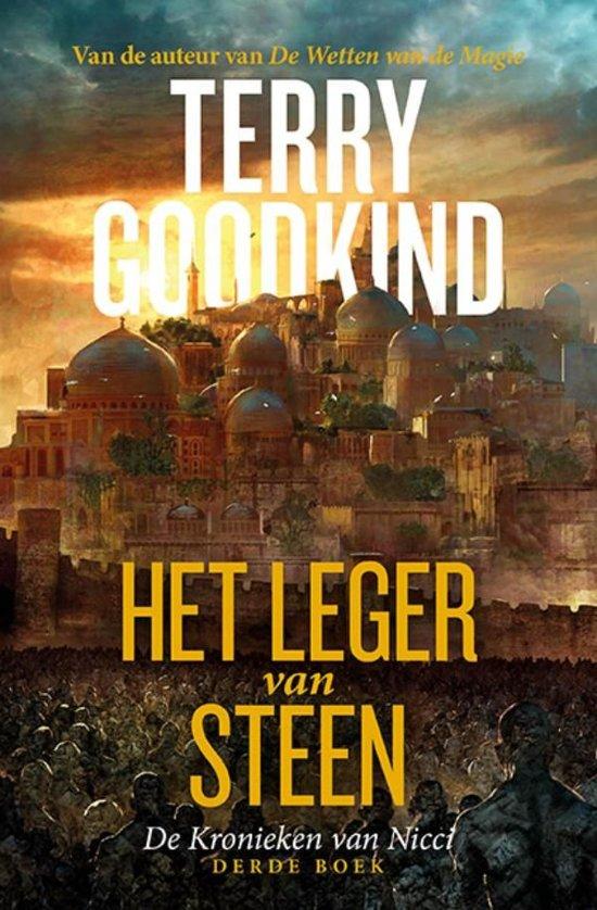 Boek cover De Kronieken van Nicci 3 - Het Leger van Steen van Terry Goodkind (Onbekend)