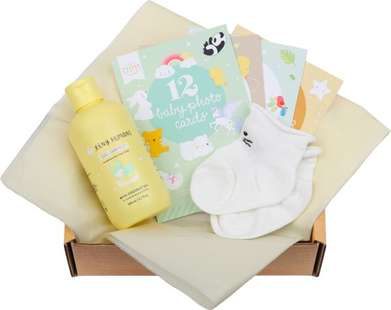 A Little Lovely Company Baby gift box: Welcome little baby (S)