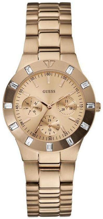 Guess W16017L1 - Horloge - 50 mm -  zilverkleurig