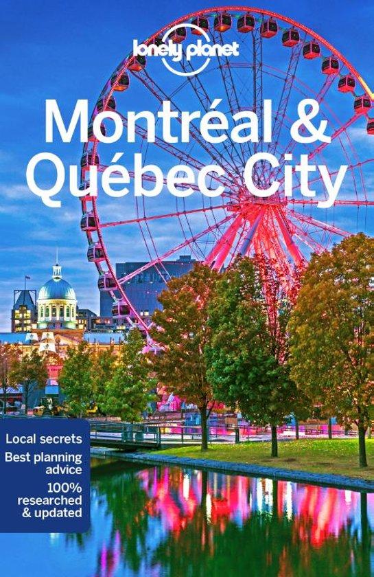 Lonely Planet reisgids Quebec Canada