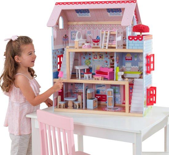 Kidkraft chelsea poppenhuis kidkraft speelgoed for Poppenhuis kind 2 jaar