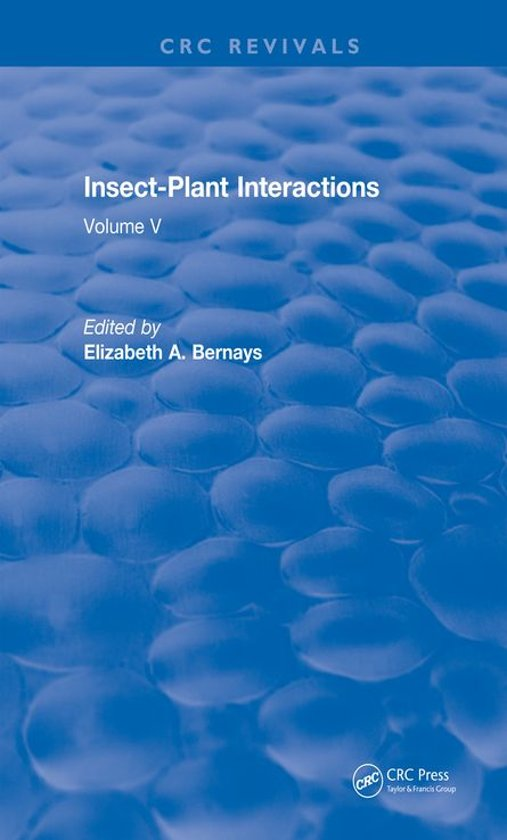 Insect-Plant Interactions (1993)