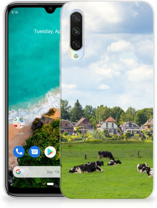 Xiaomi Mi A3 TPU Hoesje Koeien