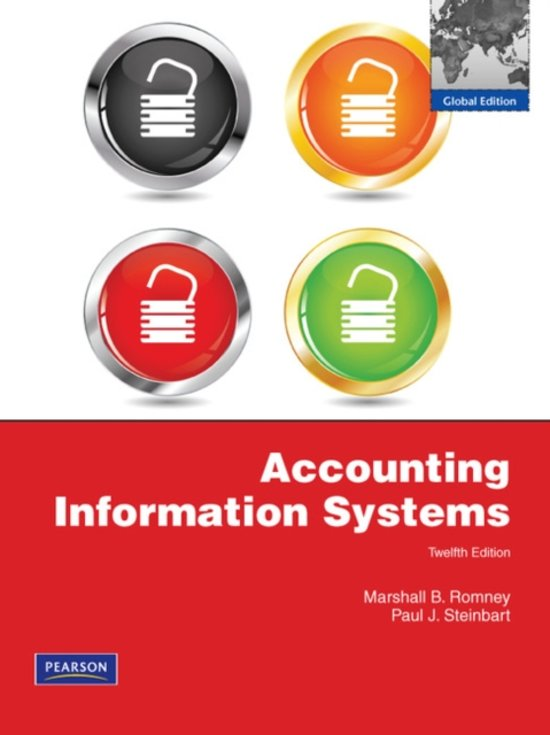 accounting information system romney 12 edition chapter 21
