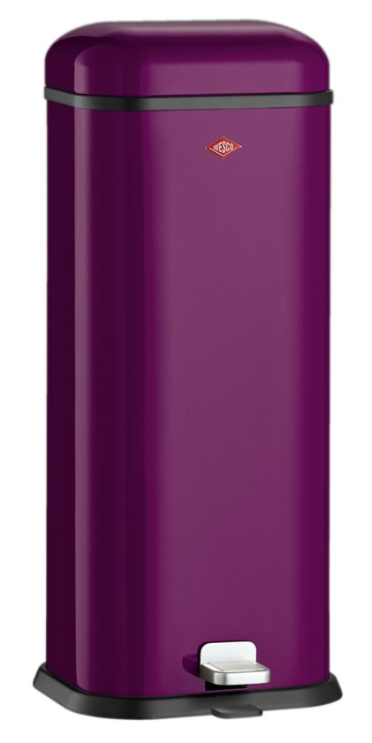 Wesco Superboy Pedaalemmer - 20 l - Blackberry purple