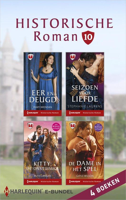 Historische roman e-bundel 10 (4-in-1)