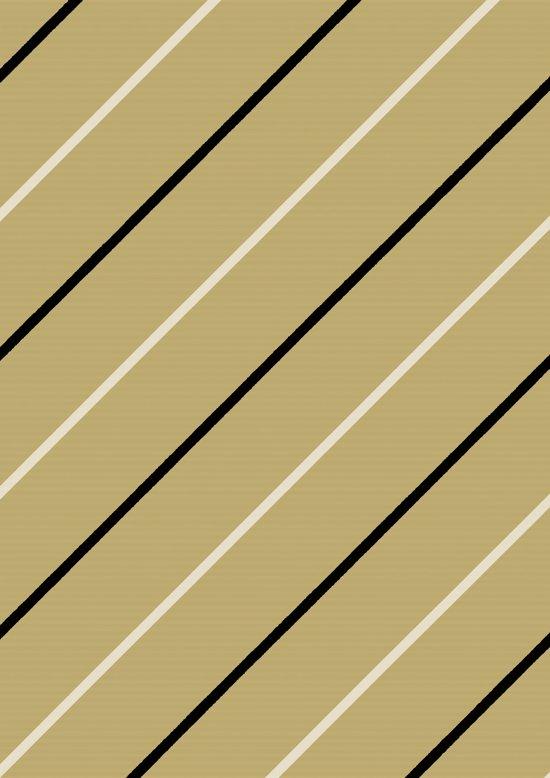 Inpakpapier met diagonaal zwarte en witte strepen - Toonbankrol breedte 30 cm - 100m lang - K40725-12-30-100Mtr