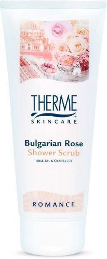 Therme Bulgarian Rose - 200 ml - Shower Scrub