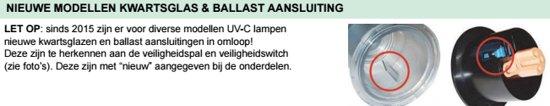 Ballast voor Blue Lagoon UV-C Tech 75 Watt (NIEUW)