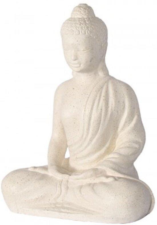 Boeddha Beelden Voor De Tuin.Bol Com Zittende Boeddha Zbw4060