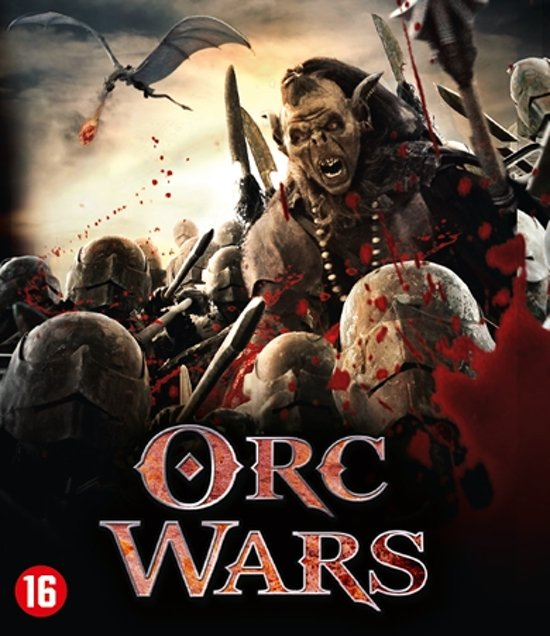   Orc Wars (Blu Ray) (Blu ray), Adam Johnson   Dvd's